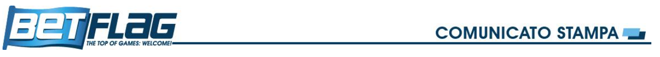 betflag comunicato stampa