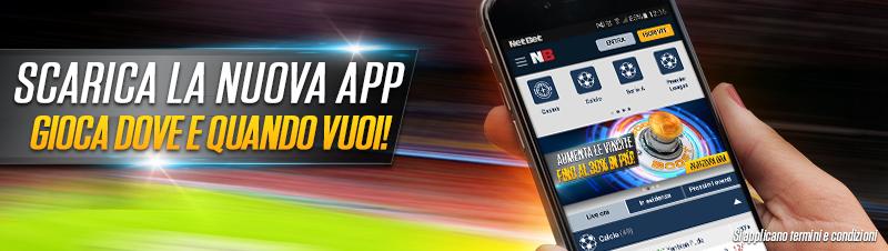 netbet mobile nuova applicazione