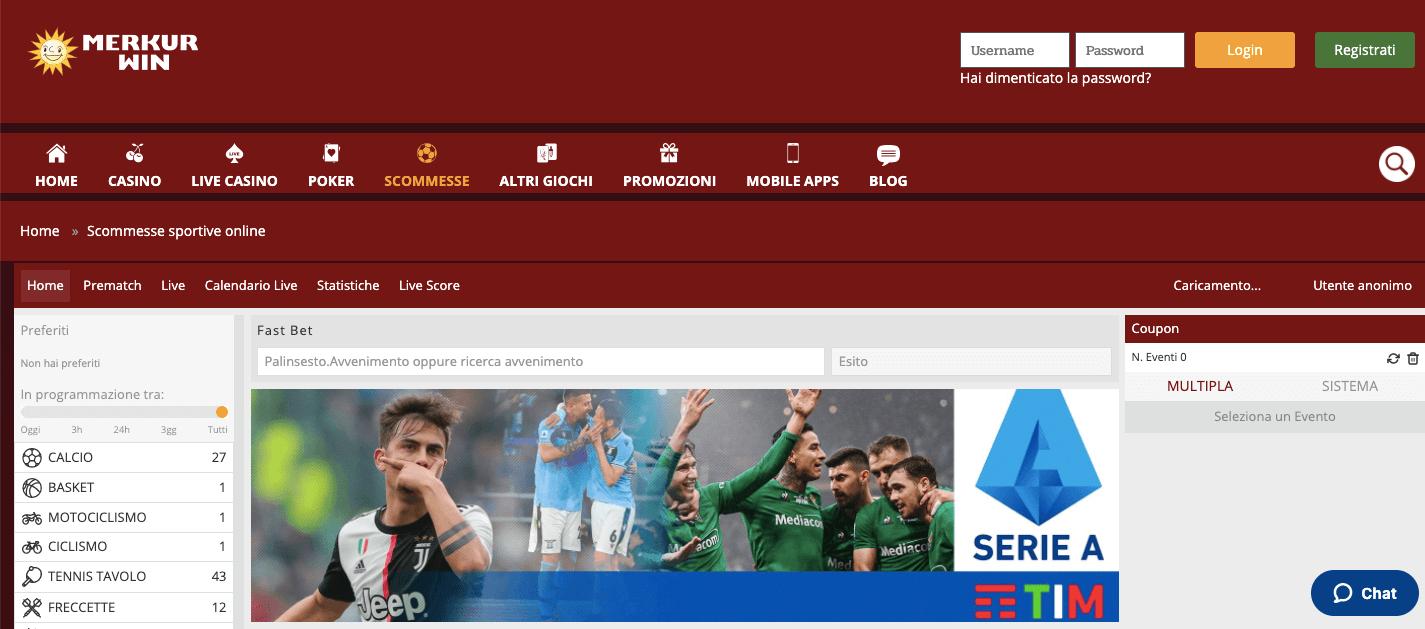 Merkurwin homepage
